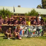 The students of Chapman Valley School