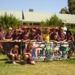 The students of Chapman Valley School
