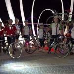 Back at Elizabeth Quay for the Bridges Night Ride