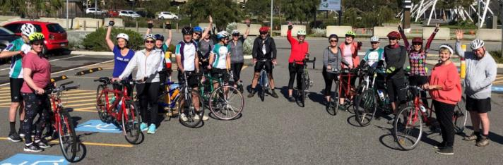 First recreation ride for new members